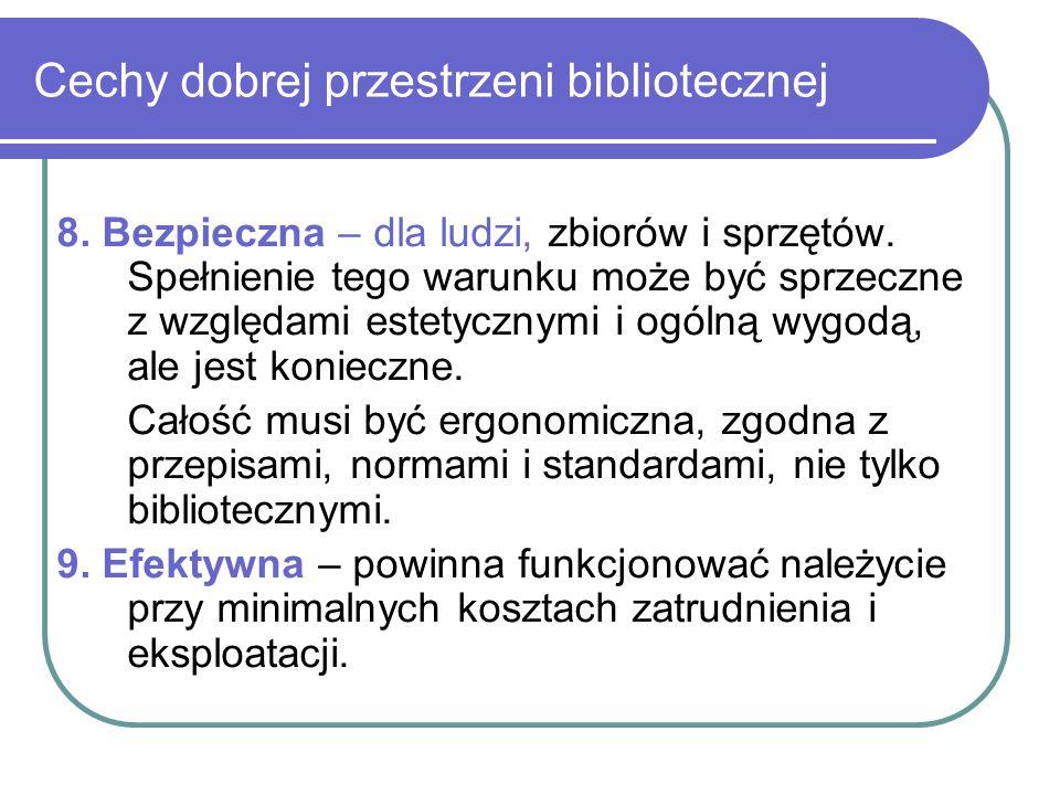 Cechy dobrej przestrzeni bibliotecznej