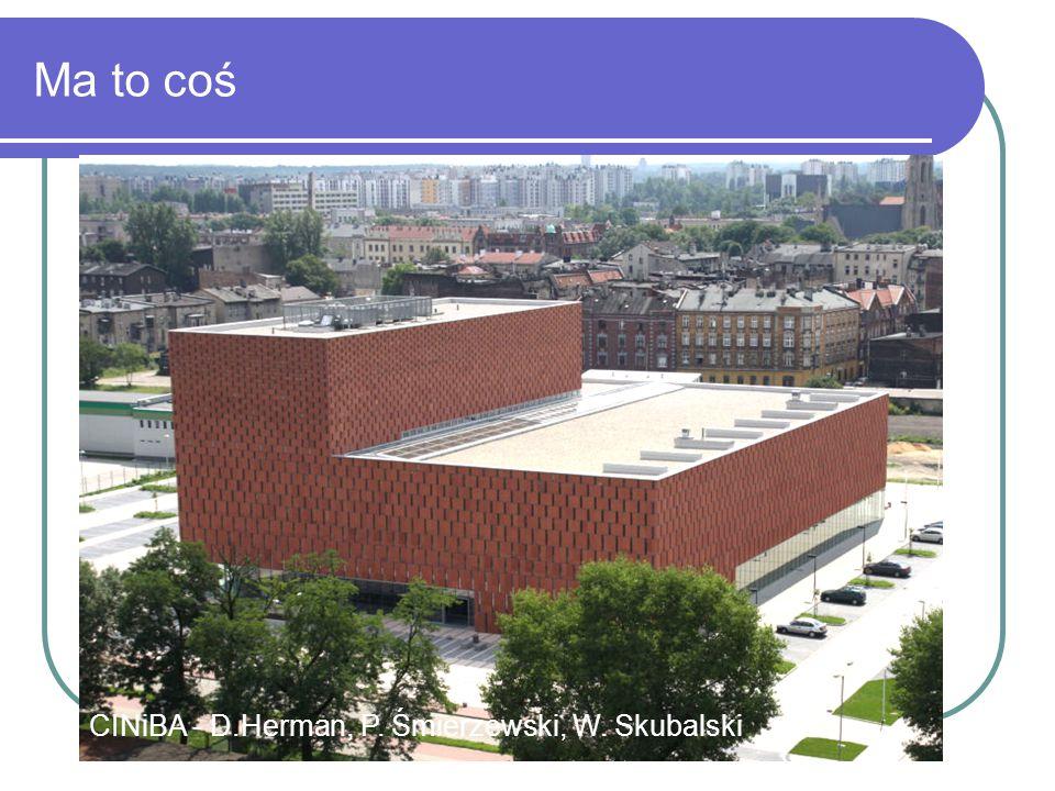 Ma to coś CINiBA - Katowice