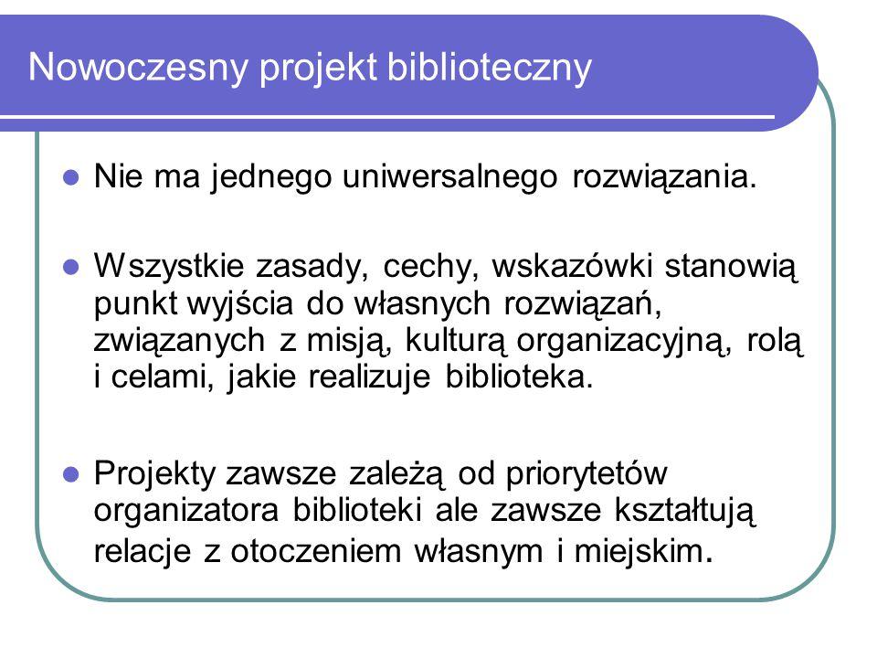 Nowoczesny projekt biblioteczny