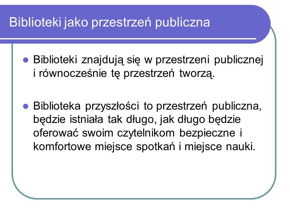 Biblioteki jako przestrzeń publiczna