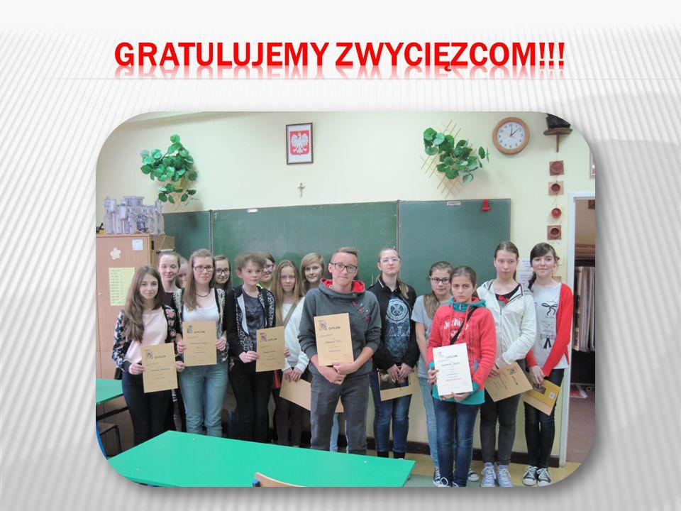 Gratulujemy zwycięzcom!!!
