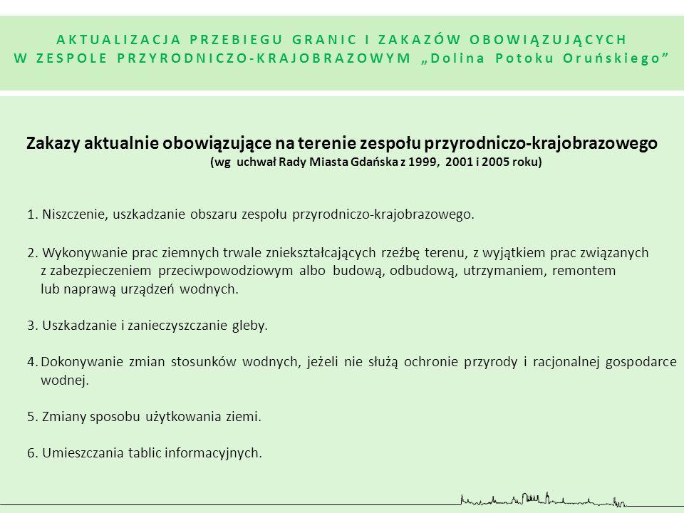 (wg uchwał Rady Miasta Gdańska z 1999, 2001 i 2005 roku)
