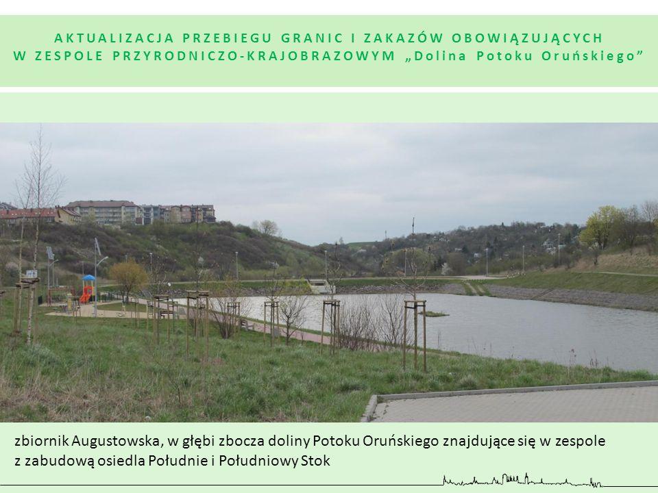 """AKTUALIZACJA PRZEBIEGU GRANIC I ZAKAZÓW OBOWIĄZUJĄCYCH W ZESPOLE PRZYRODNICZO-KRAJOBRAZOWYM """"Dolina Potoku Oruńskiego"""