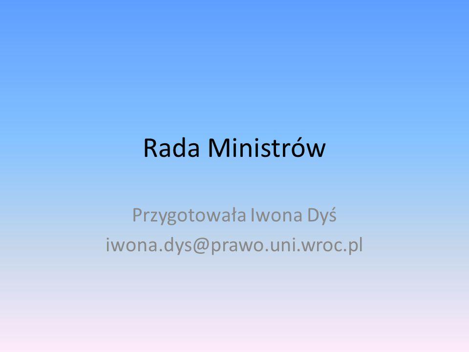 Przygotowała Iwona Dyś iwona.dys@prawo.uni.wroc.pl