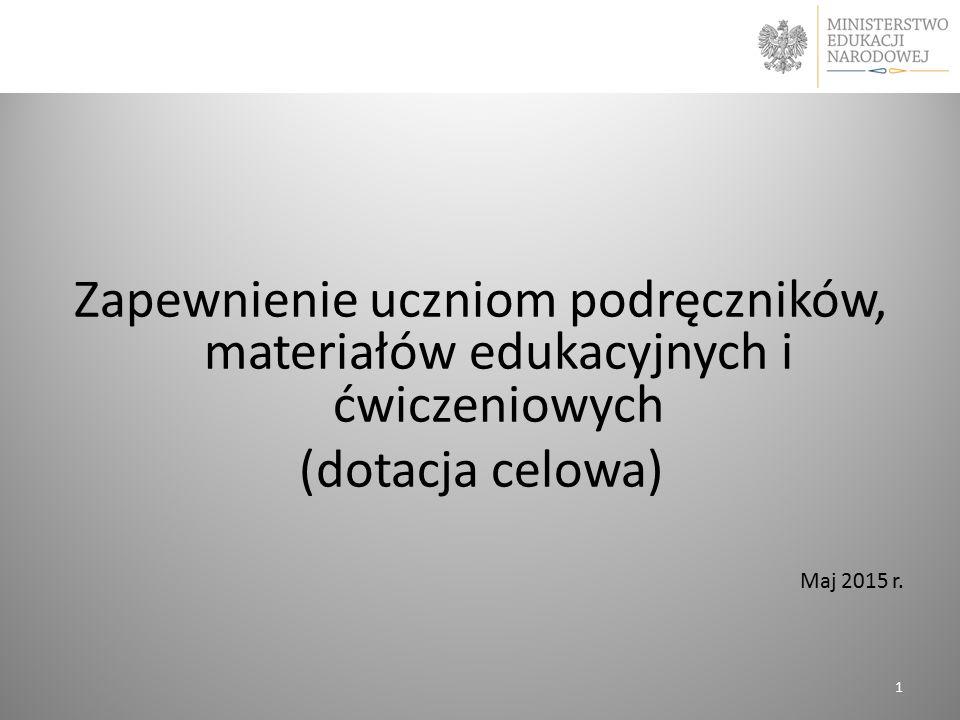 Zapewnienie uczniom podręczników, materiałów edukacyjnych i ćwiczeniowych