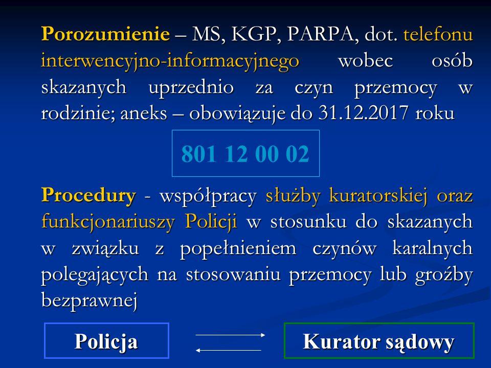 Porozumienie – MS, KGP, PARPA, dot