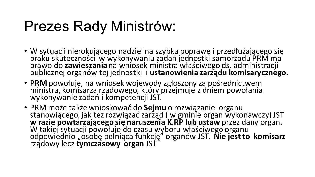 Prezes Rady Ministrów: