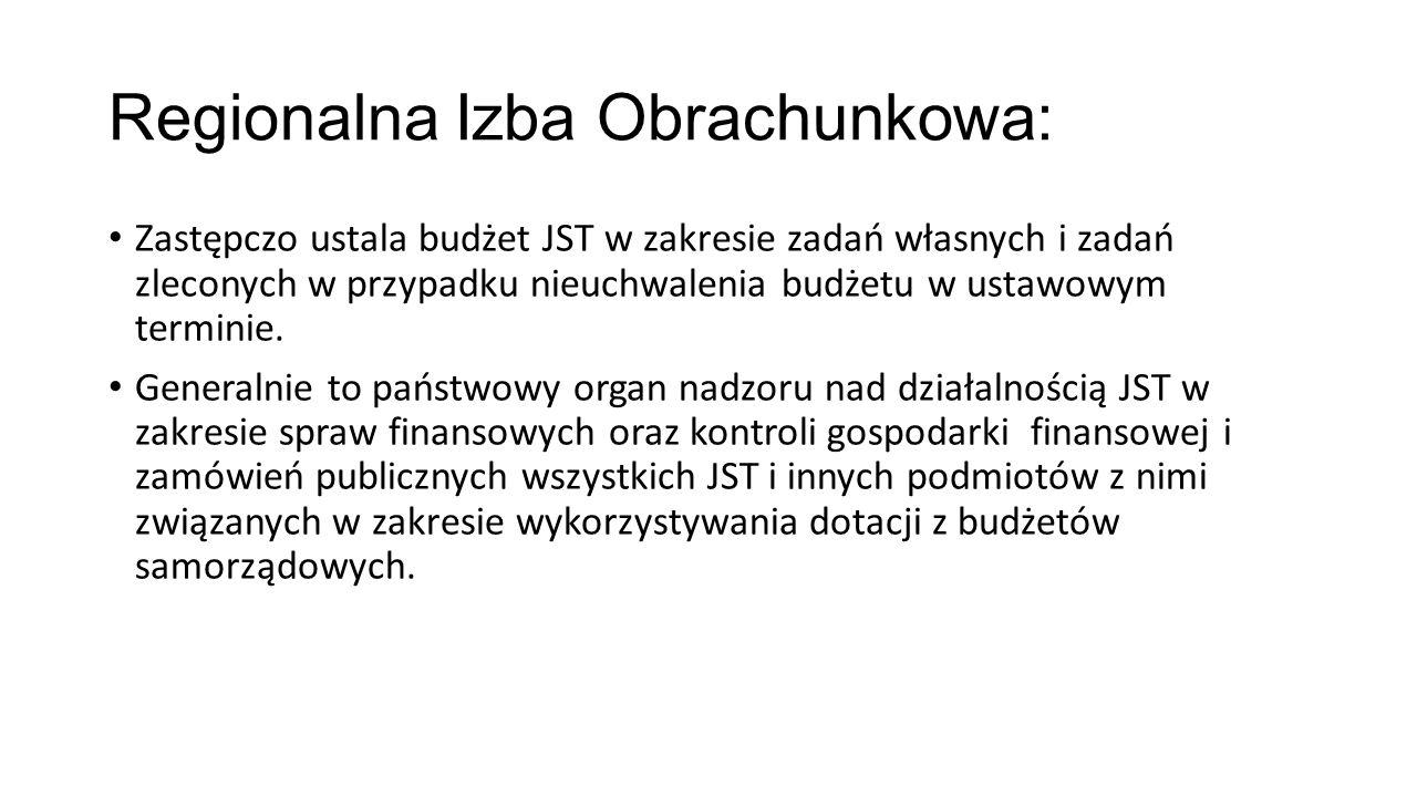 Regionalna Izba Obrachunkowa: