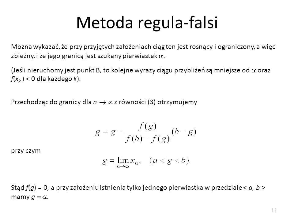 Metoda regula-falsi