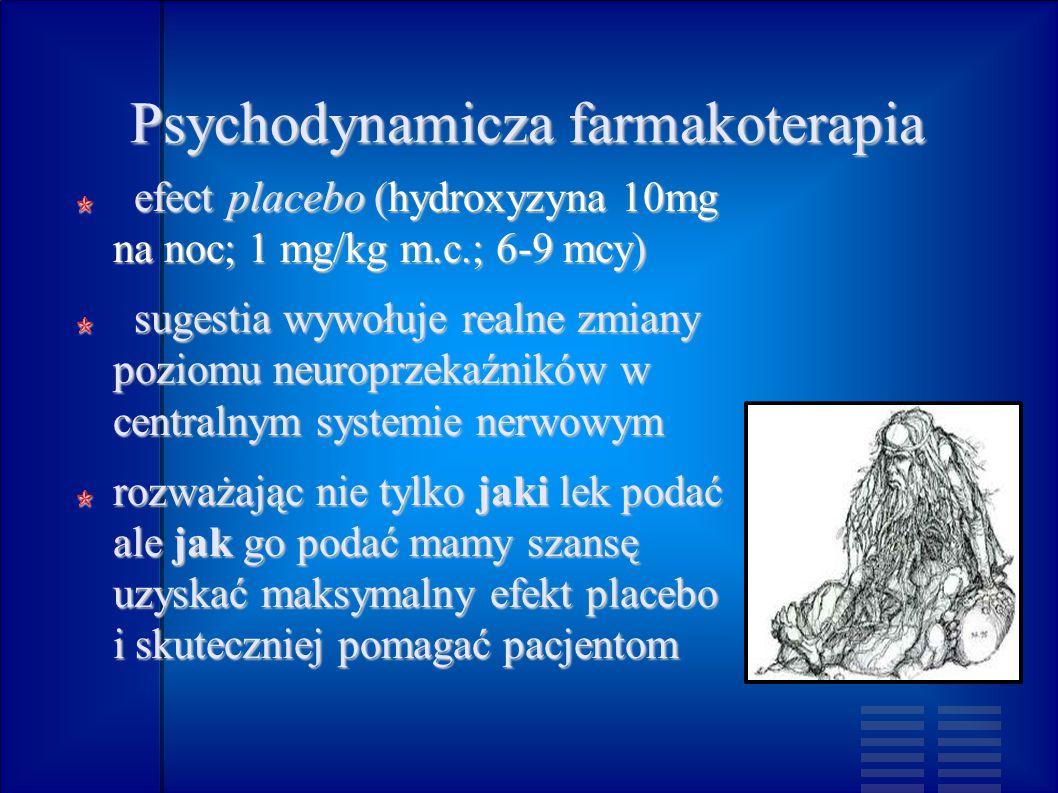 Psychodynamicza farmakoterapia