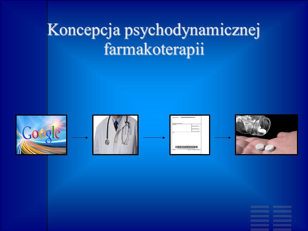Koncepcja psychodynamicznej farmakoterapii