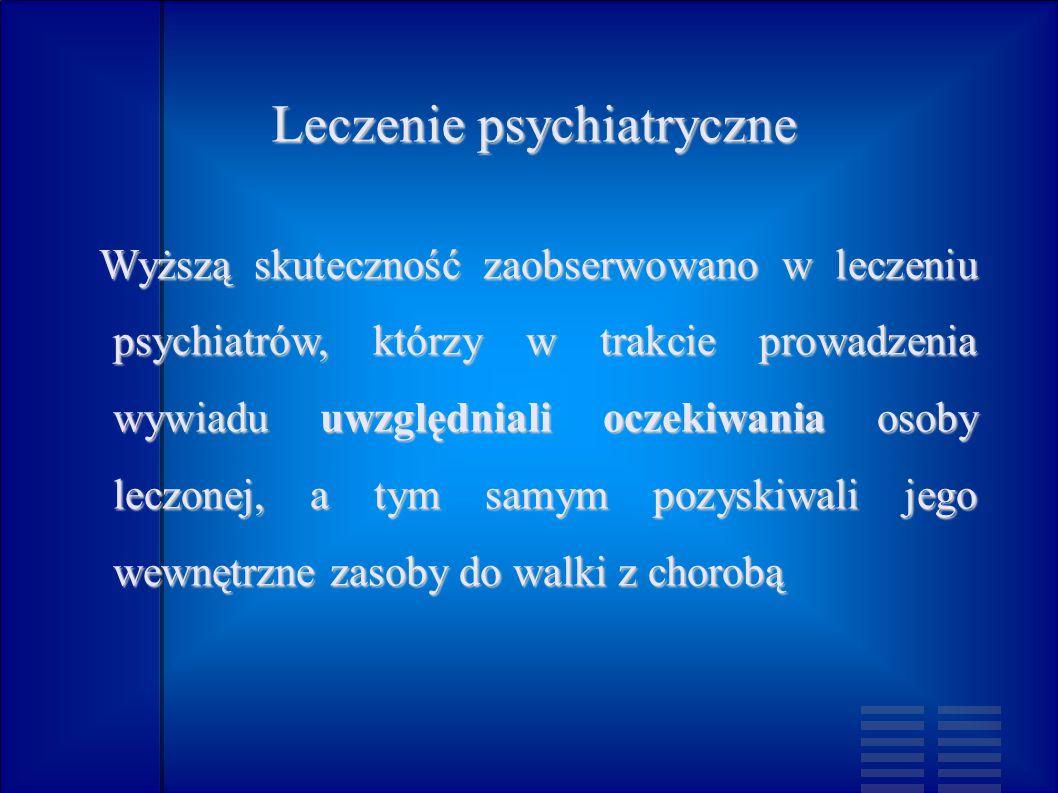 Leczenie psychiatryczne