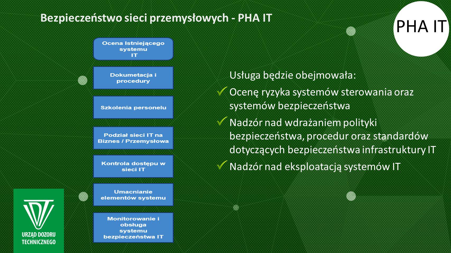 PHA IT Bezpieczeństwo sieci przemysłowych - PHA IT