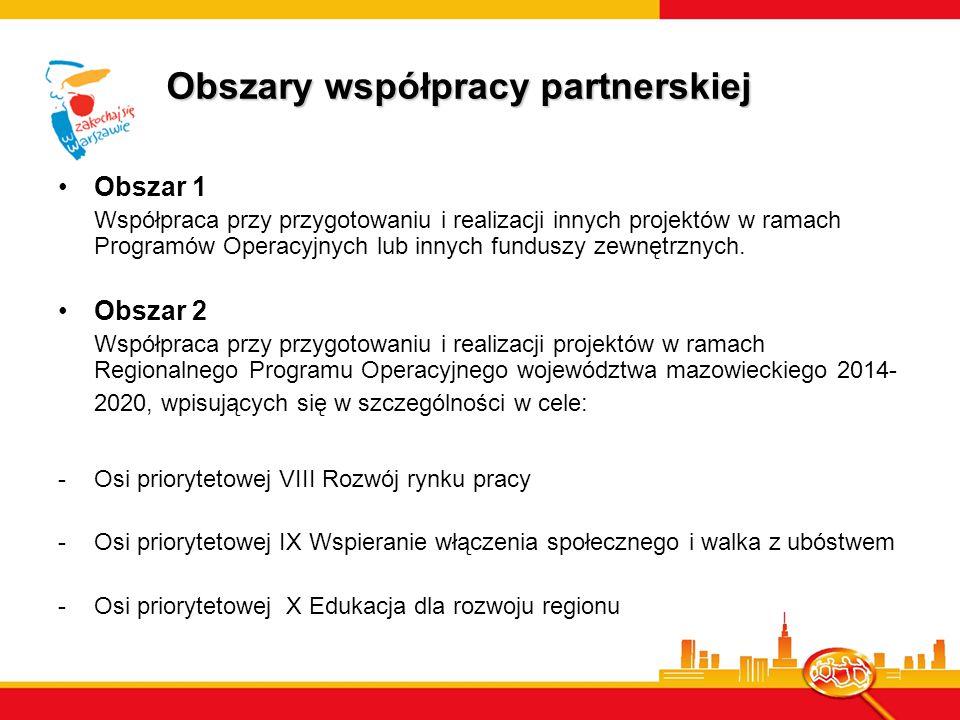 Obszary współpracy partnerskiej