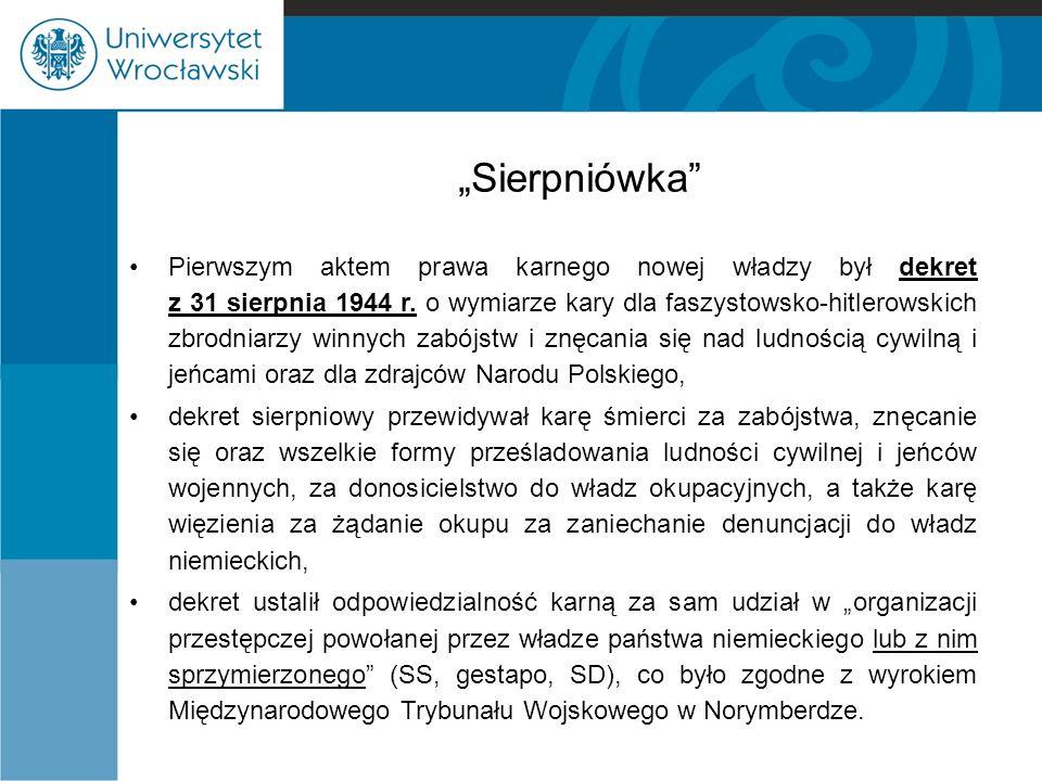 """""""Sierpniówka"""