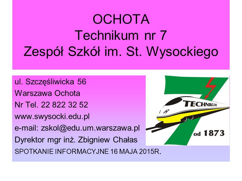 OCHOTA Technikum nr 7 Zespół Szkół im. St. Wysockiego