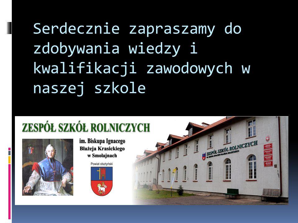 Serdecznie zapraszamy do zdobywania wiedzy i kwalifikacji zawodowych w naszej szkole