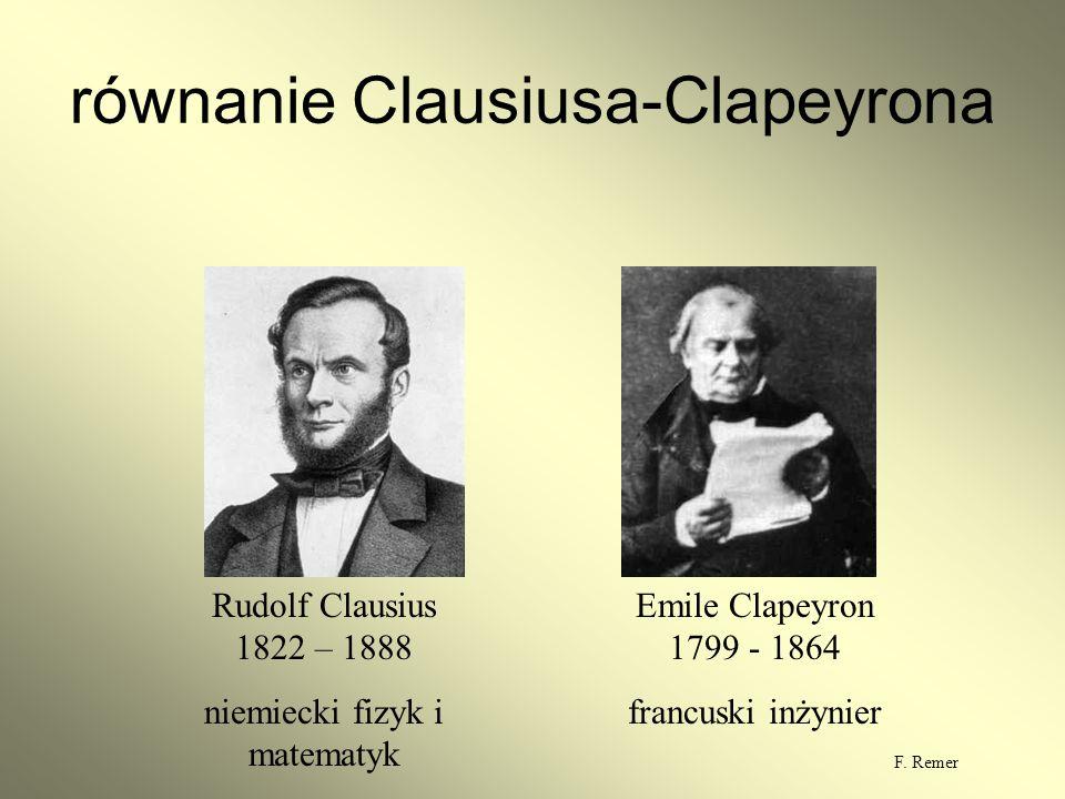 równanie Clausiusa-Clapeyrona