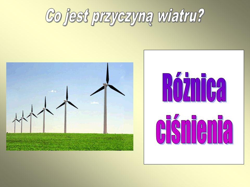 Co jest przyczyną wiatru