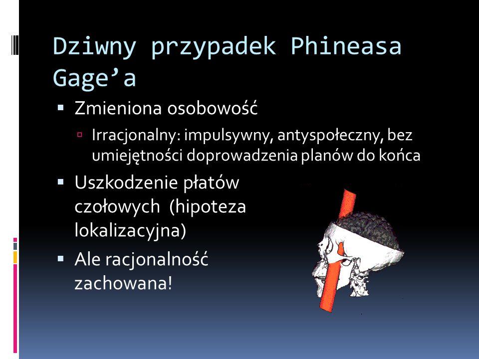 Dziwny przypadek Phineasa Gage'a