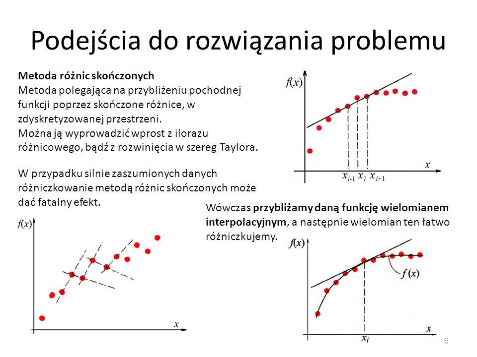 Podejścia do rozwiązania problemu