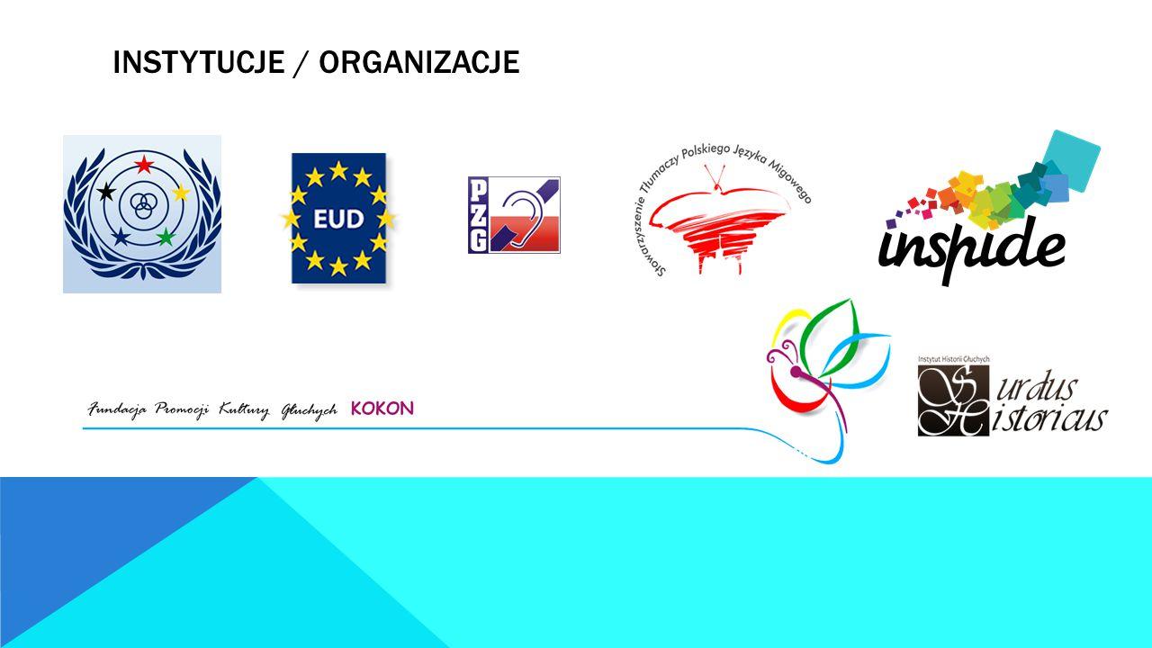 Instytucje / organizacje
