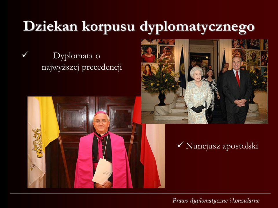 Dziekan korpusu dyplomatycznego