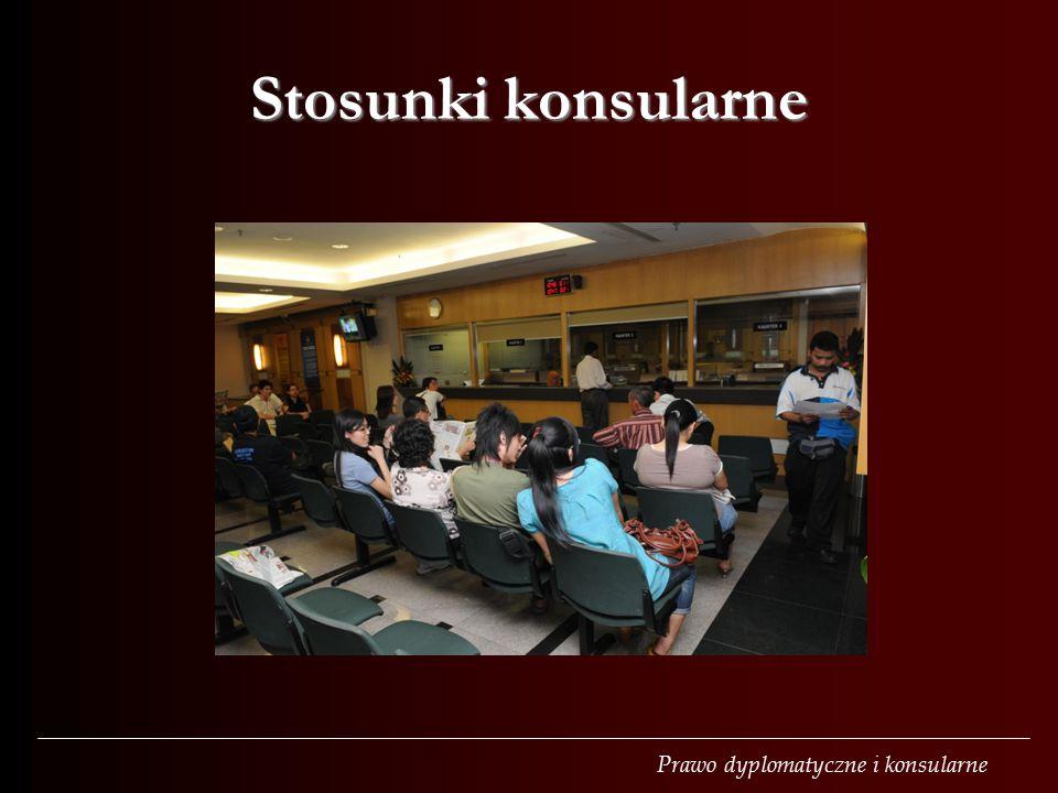 Stosunki konsularne