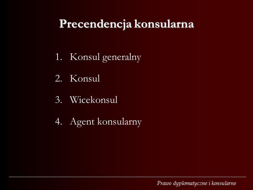 Precendencja konsularna