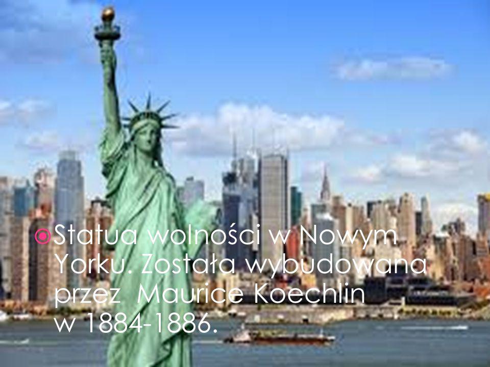 Statua wolności w Nowym Yorku