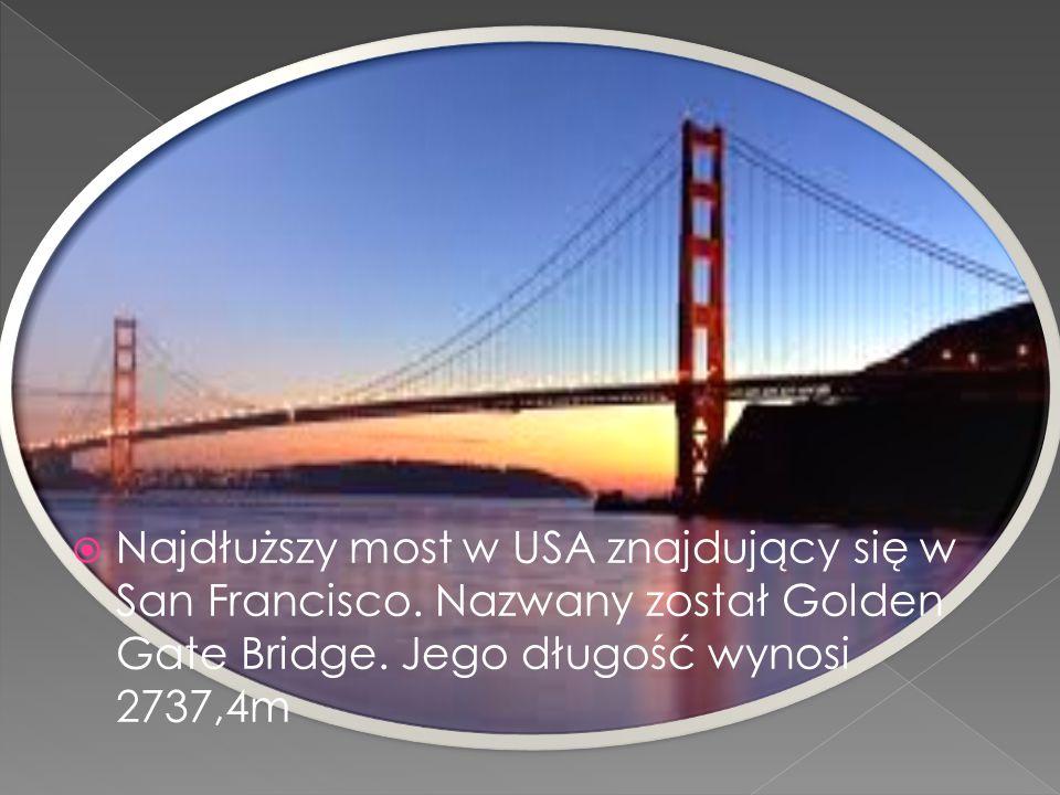 Najdłuższy most w USA znajdujący się w San Francisco