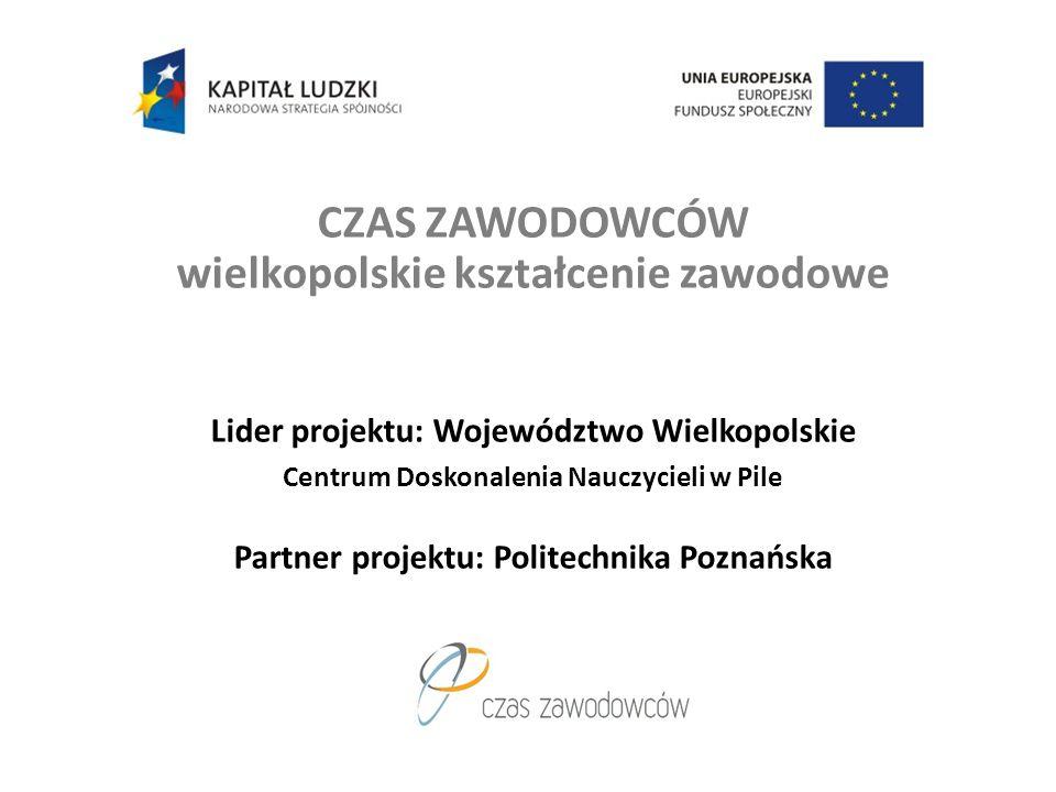 CZAS ZAWODOWCÓW wielkopolskie kształcenie zawodowe