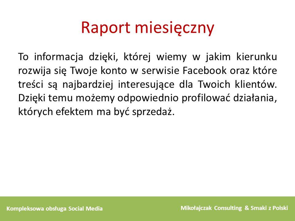 Raport miesięczny