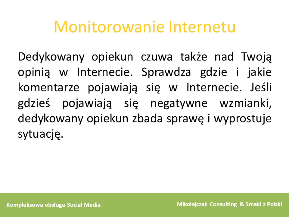 Monitorowanie Internetu
