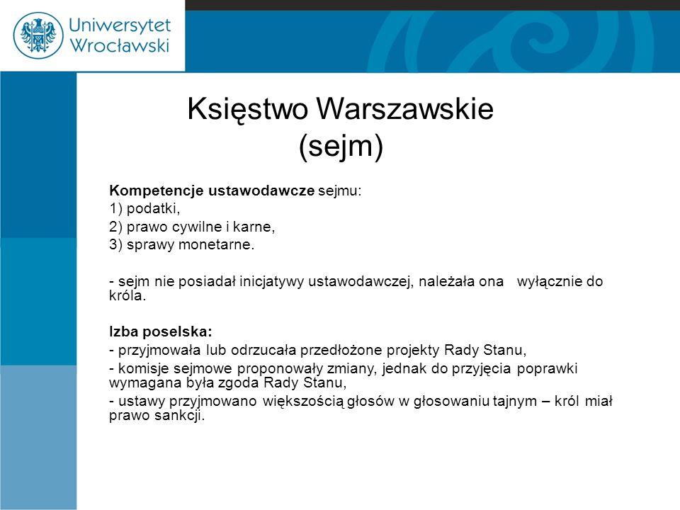 Księstwo Warszawskie (sejm)