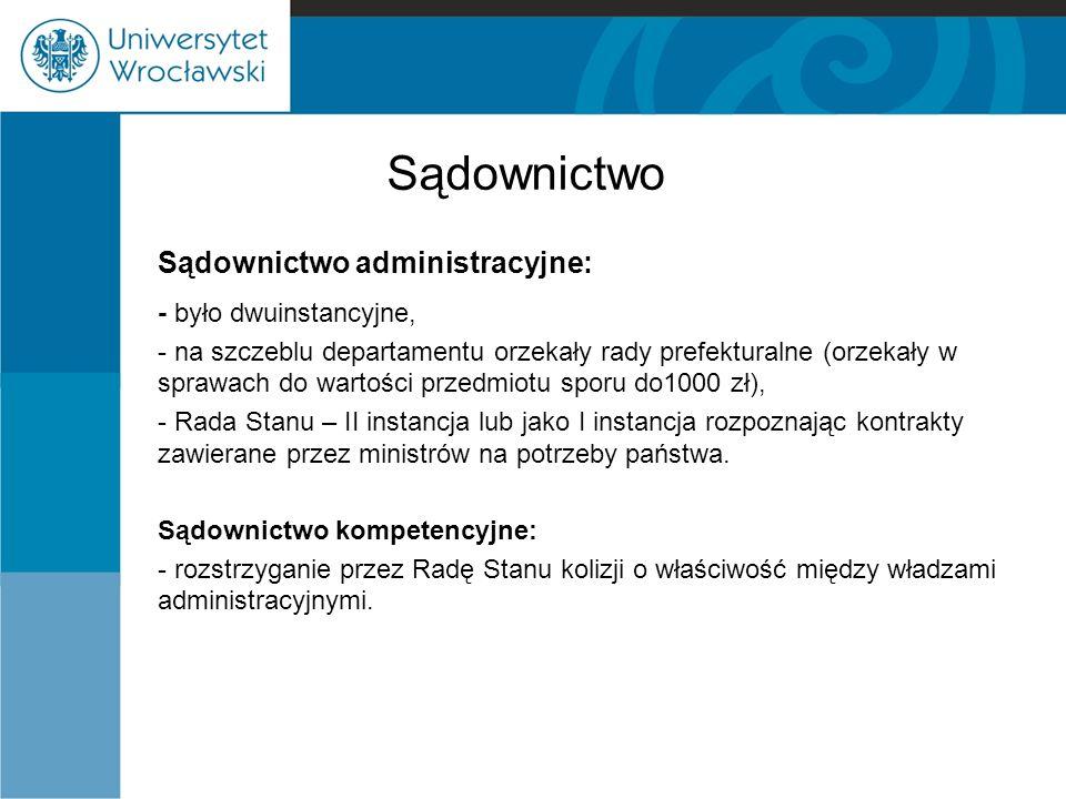 Sądownictwo administracyjne: