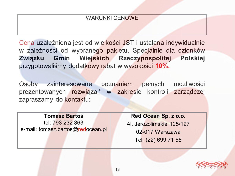 e-mail: tomasz.bartos@redocean.pl