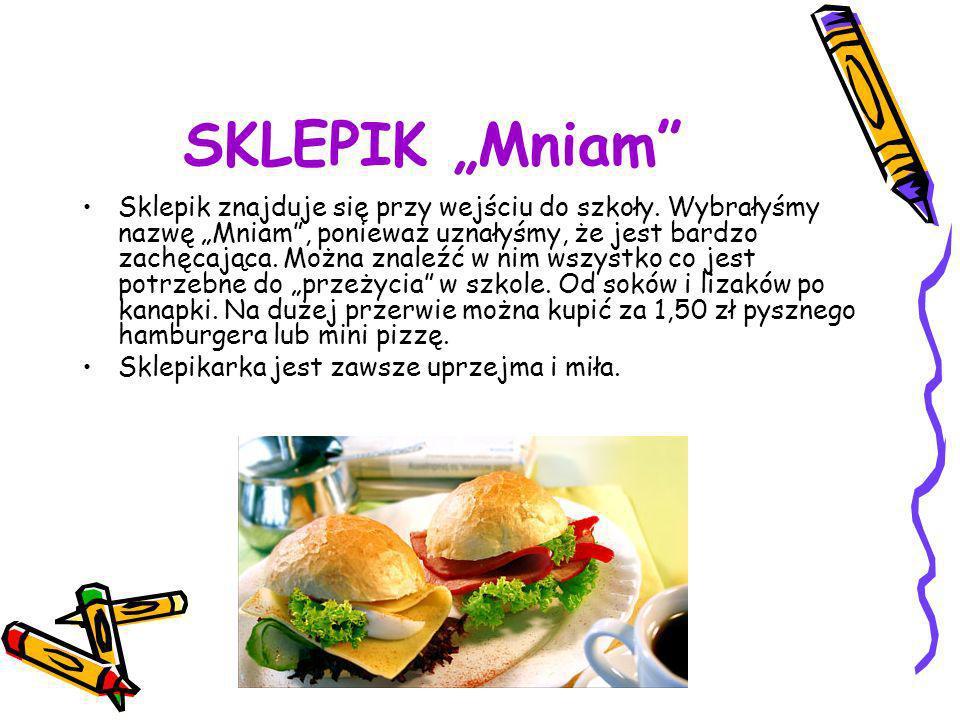 """SKLEPIK """"Mniam"""