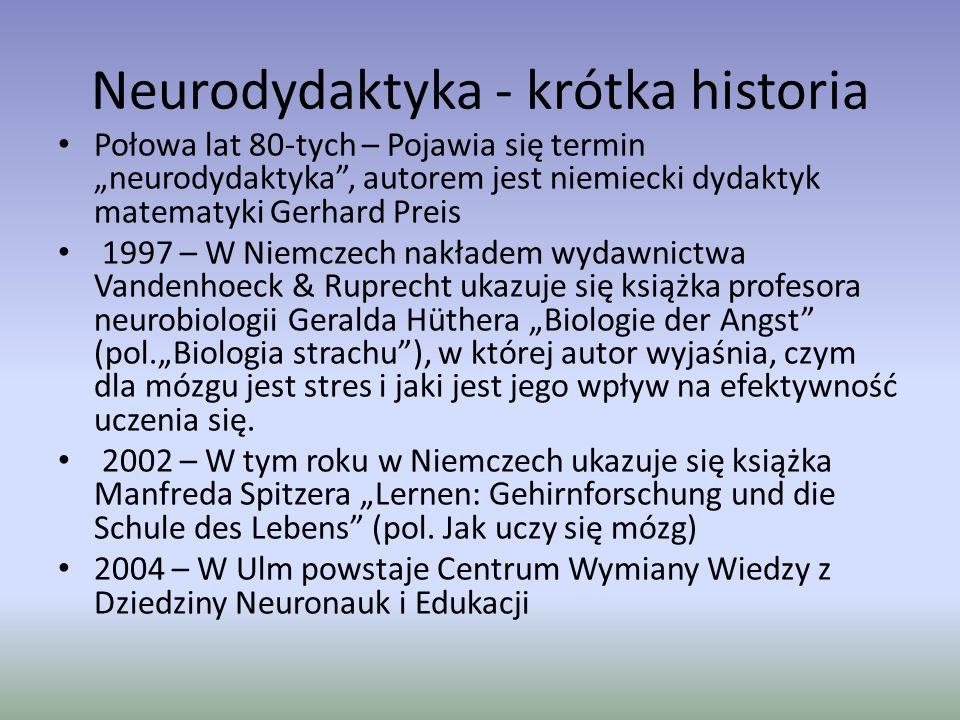 Neurodydaktyka - krótka historia