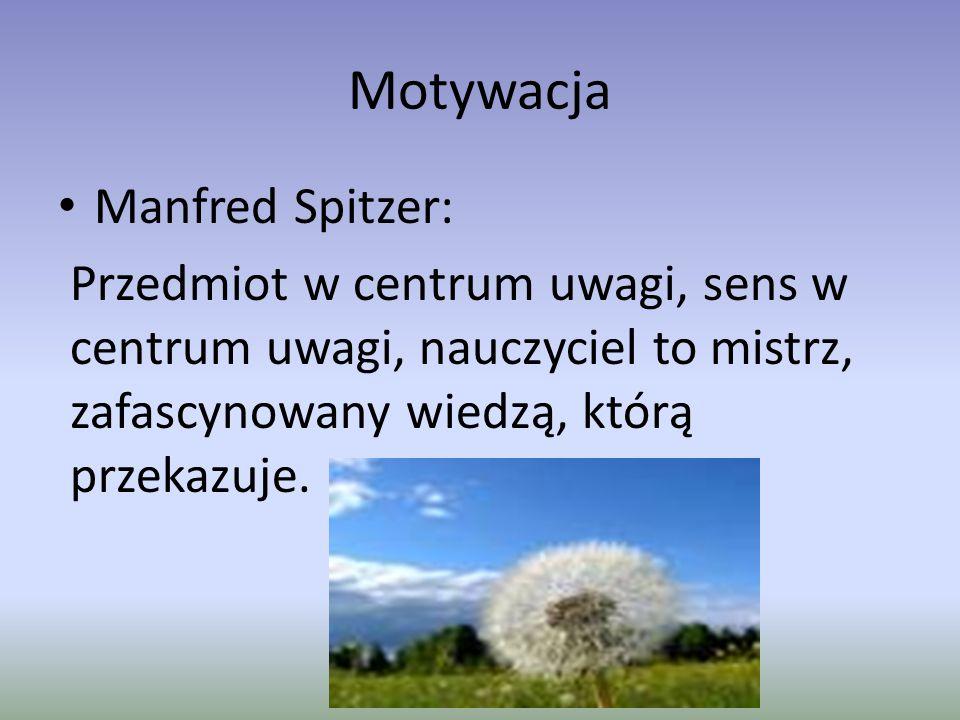 Motywacja Manfred Spitzer: