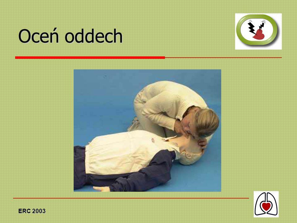 Oceń oddech ERC 2003
