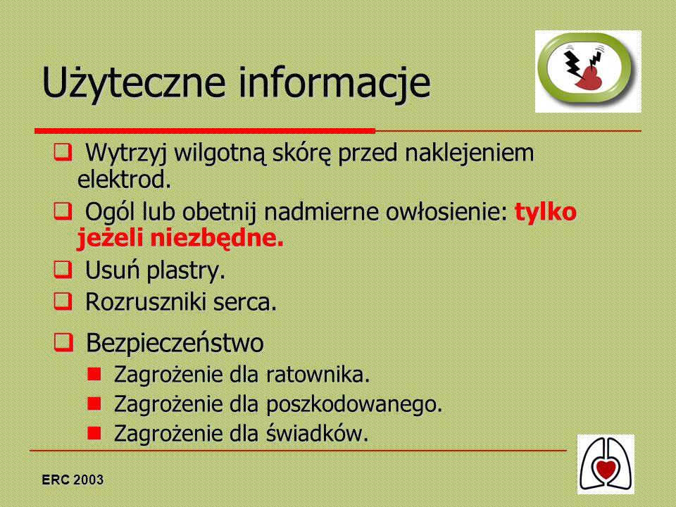 Użyteczne informacje Bezpieczeństwo