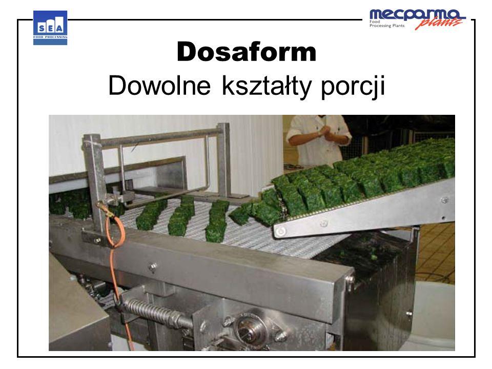 Dosaform Dowolne kształty porcji
