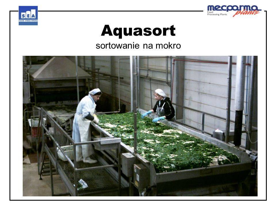 Aquasort sortowanie na mokro