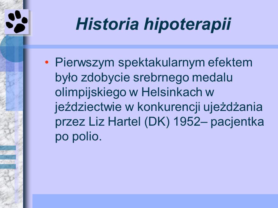 Historia hipoterapii