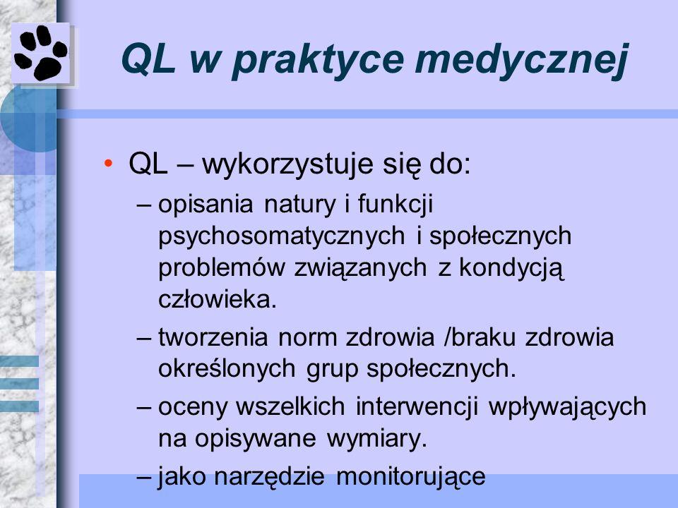 QL w praktyce medycznej