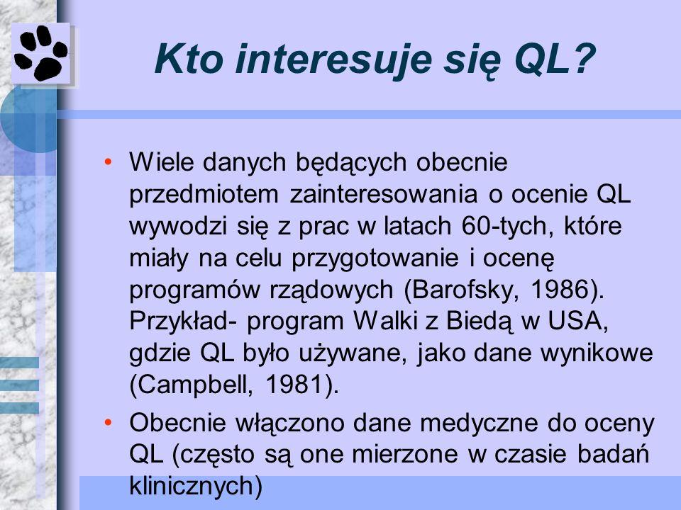 Kto interesuje się QL