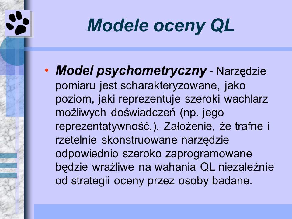 Modele oceny QL