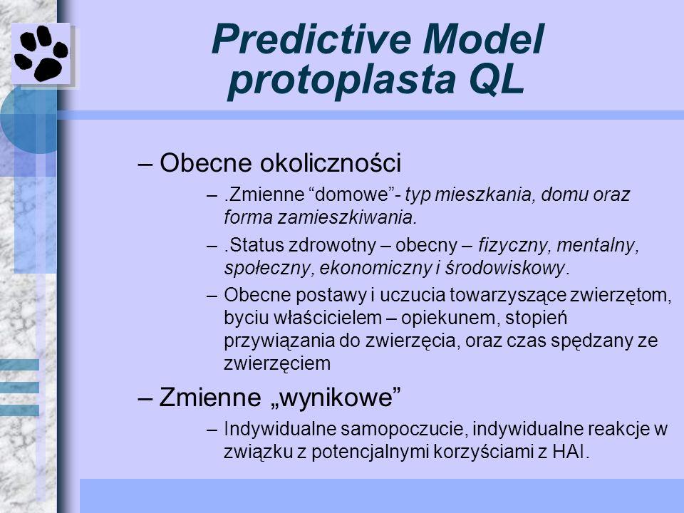Predictive Model protoplasta QL