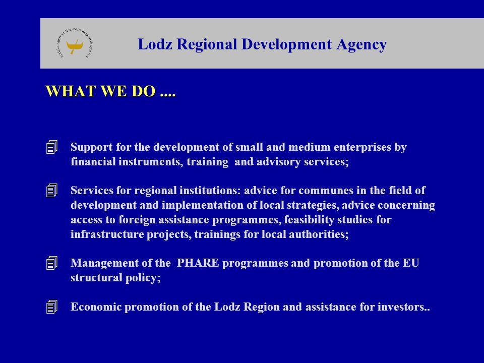 Lodz Regional Development Agency